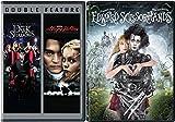 Edward Scissorhands + Sleepy Hollow & Dark Shadows (DVD) Johnny Depp Tim Burton Fantasy Action set