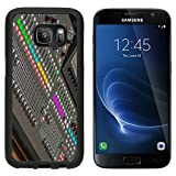 MSD Premium Samsung Galaxy S7 Aluminum Backplate Bumper Snap Case Sound console detail DJ and audio operator equipment to produce a musical production Image ID 27238113