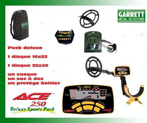 Detector De metales Garrett Ace 250-Sport sin (protectores De disco 2 unidades De diferentes tamaños, en este lote): Amazon.es: Bricolaje y herramientas