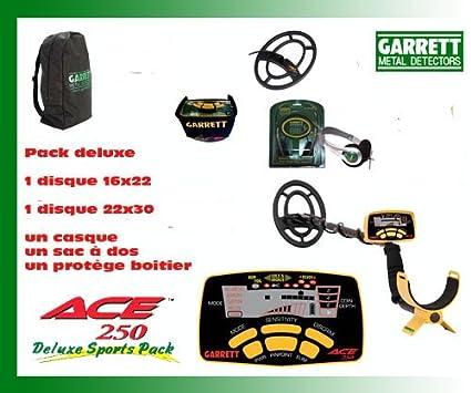 Detector De metales Garrett Ace 250-Sport sin (protectores De disco 2 unidades De