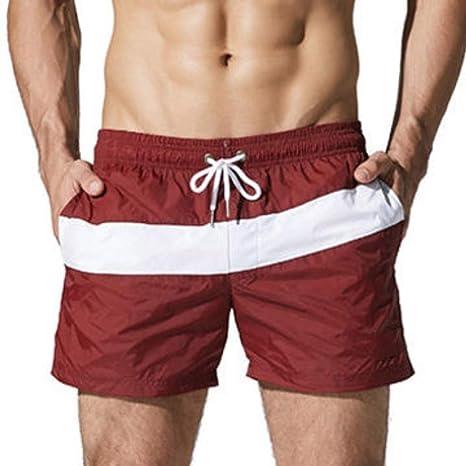 YKCOOL Traje de baño Pantalones Cortos de natación para ...