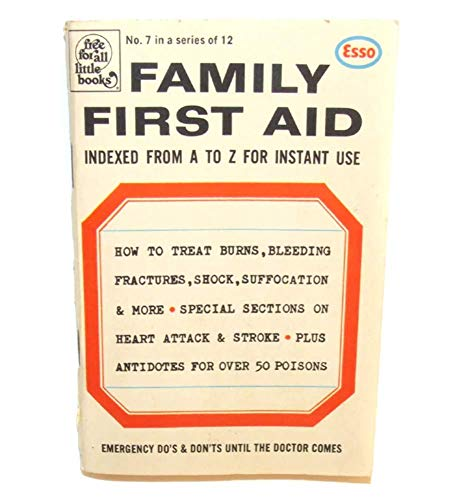1972 Family First Aid Esso Advertising Dell Free for All Little Book