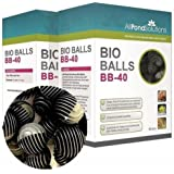 All Pond Solutions Bio Balls Fish Tank Filter Media, 40-Piece