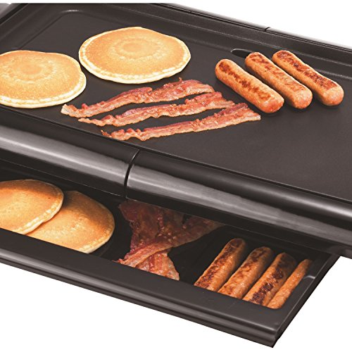 Brentwood  TS-840  Non-Stick  Electric  Griddle  with  Drip  Pan,  10  x  20  Inch,  Black by Brentwood (Image #4)