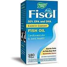 Nature's Way Fisol Fish Oil, 180 Softgels