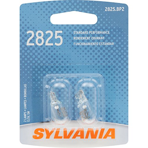 SYLVANIA 2825 Basic Miniature Bulb, (Contains 2 ()
