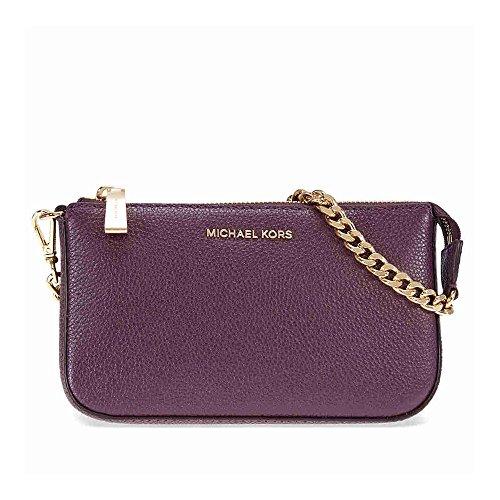 MICHAEL Michael Kors Jet Set Leather Chain Wallet, Color - Michael Purple Kors