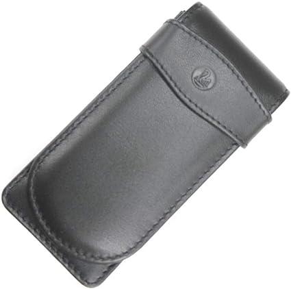Pelikan 923433 - Estuche de cuero para tres bolígrafos, color negro: Amazon.es: Electrónica