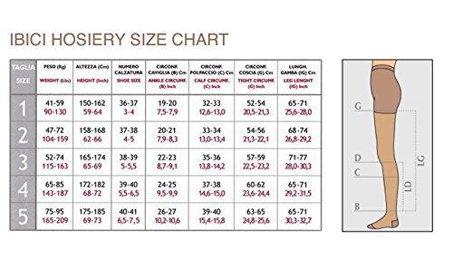 nuova selezione meglio estetica di lusso Ibici Segreta Collant 140 Classic 18-22 mmHg Medium-Strong ...
