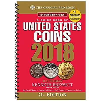 2018 - Red Book 71st Edition - Spiral Edition - US Coin Values! - - -