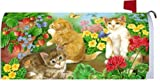 Kittens & Butterflies 1577MM Magnetic Mailbox Cover Wrap
