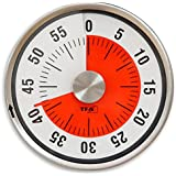 """Timetex Zeitdauer-Uhr """"Automatik"""" Compact mit Magnet, magnetische Rückseite, ohne Batterien - Kurzzeitwecker Eieruhr Lernuhr lernen Schule Grundschule"""