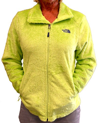 The North Face WomenS Osito 2 Jacket Sharp Green Fleece Jacket L