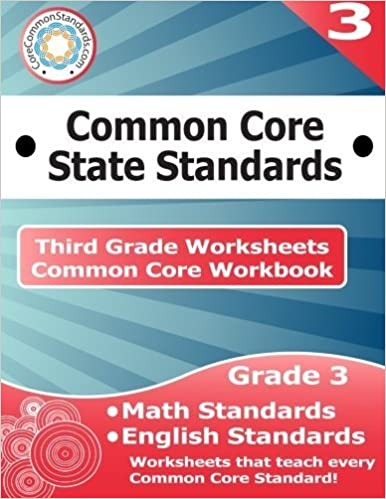 Third Grade Common Core Workbook: Worksheets by CoreCommonStandards.com (2014-04-15)