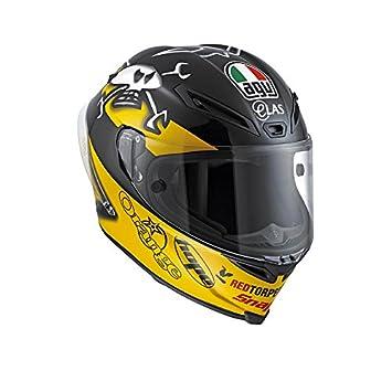 AGV Casco Helmets integrales Corsa E2205 micrófono W, Multicolor (Guy Martin), talla