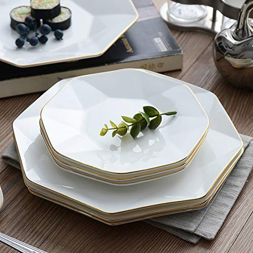 - YLee Ceramic Plates and Cutlery Hand-Painted Phnom Penh Bone China Healthy and Environmentally Friendly Dinner Service Lead-Free and Cadmium-Free