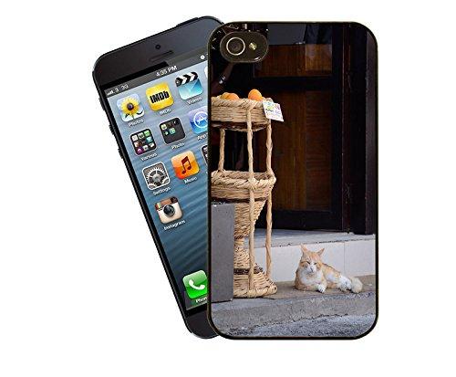 Chypre Cat-Coque pour iPhone-La-Coque pour Apple iPhone 4/4s-By Eclipse idées de cadeaux