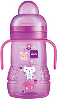 Copo Trainer 220 ml, MAM, Rosa