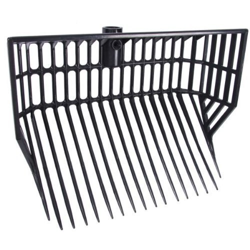 Waldhausen Horse Manure Fork Plastic with High Sides