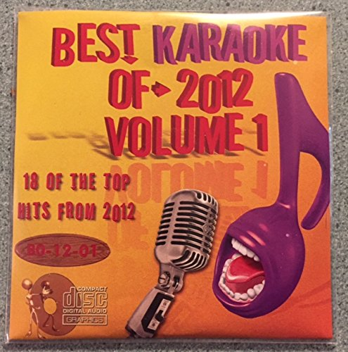 Best Of Karaoke 2012 Volume 1 CD+Graphics CDG 18 Pop & Country Tracks Justin Bieber, Taylor Swift, Bruno Mars, One Direction, Rihanna, Darius Rucker, Kenny Chesney, Luke Bryan, Randy Houser, ()