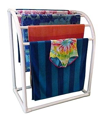 TowelMaid 5 Bar Curved Outdoor Towel Rack