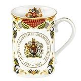 Royal Worcester Queen Elizabeth II Diamond Jubilee Mug