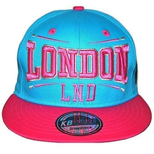 KB Ethos London, los angeles ajustable gorras, Retro Vintage Gorra Visera Plate, lnd