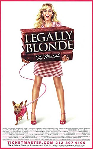 (Legally Blonde The Musical (Broadway) POSTER Movie (11 x 17 Inches - 28cm x 44cm) ())
