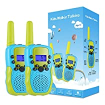 Selieve Toys for 3-12 Year Old Childrens, Walkie Talkies for Kids 22 Channels 2 Way Radio Toy with Backlit LCD Flashlight, 3 Miles Range for Outside Adventures, Camping, Hiking …