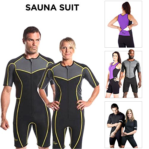 New Kutting Weight (cutting weight) neoprene weight loss sauna suit (XL)