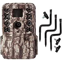 Moultrie M40 16MP 80 FHD Video Low Glow Infrared Game Trail Camera + Tree Mount