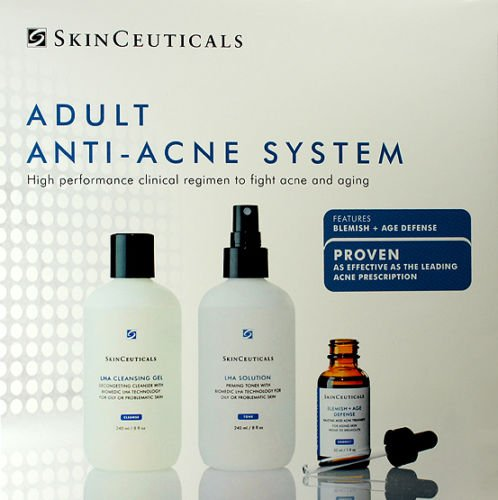 Skinceuticals Adult Acne System 3 Items Cleanser Toner Serum New Fresh Product by SkinCeuticals