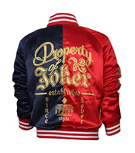 TLCFashion Harley Quinn Jacket - Suicide Squad Costume Jacket -