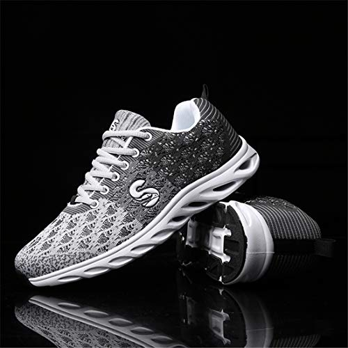 Sport Men Shoes Unisex Active SEVENWELL Breathable Running Walking Fly Black Women Lightweight Knited Sneakers zqRdXR