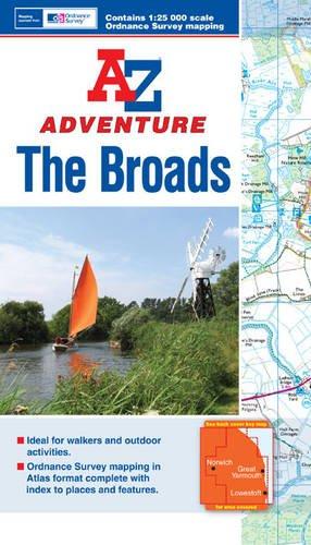 The Broads Adventure Atlas 1:25K A-Z (A-Z Adventure Atlas) pdf
