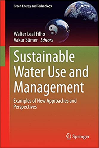 sustainable water use and management examples of new approaches and