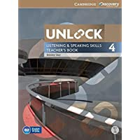 Unlock: Unlock Level 4 Listening and Speaking Skills Teacher's Book with DVD