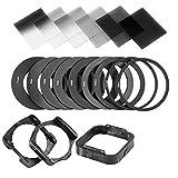 ZOMEI Gradient Neutral Density Gradual ND Filter Kit for Cokin P Series Pro Set SLR DSLR Camera Lens