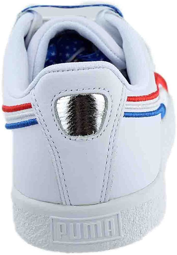Puma Mens Clyde Low Top Lace Up Fashion Sneakers