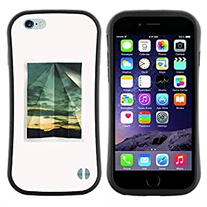 "Hypernova Slim Fit Dual Barniz Protector Caso Case Funda Para Apple (4.7 inches!!!) iPhone 6 / 6S (4.7 INCH) [Minimalista ventana verano""]"
