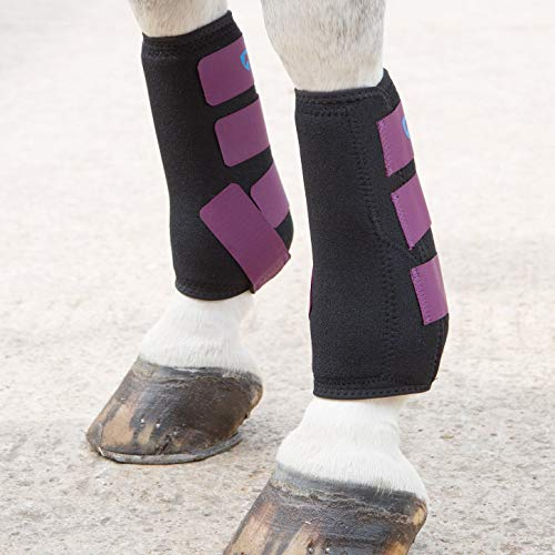 Shires ARMA Breathable Sports Exercise Boots Pony Plum by Shires