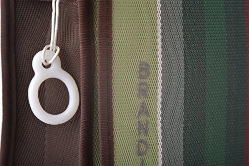 Brandina The Original - Bolso al hombro de tela para hombre Canna