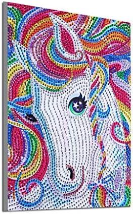 WOBANG DIY Diamond Painting Animal Modelo Lleno de Perro Flor Loro ...