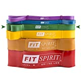 Fit Spirit Exercise Resistance Bands Green (10-50 lbs) Review