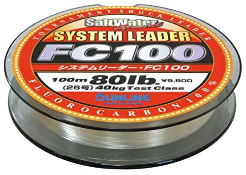 Sunline 63039448 System Leader FC 100 45 Lb System Leader FC 100, Clear, 33 yd