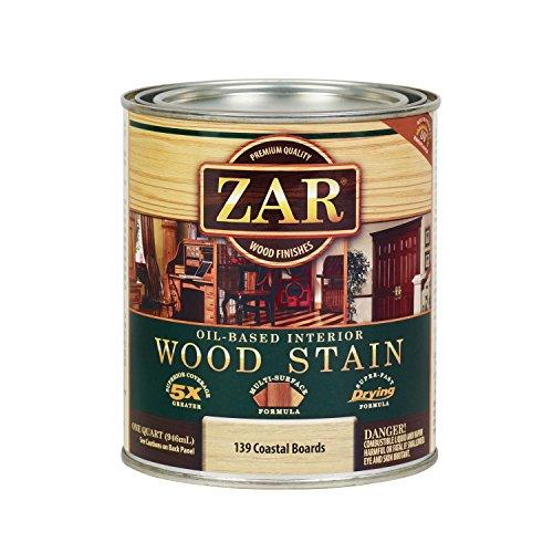 ZAR 13912 Wood Stain, QT, Coastal Boards