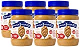 Peanut Butter & Co. Crunch Time Peanut Butter, Non-GMO Project Verified, Gluten Free, Vegan, 16 Ounce (Pack of 6)
