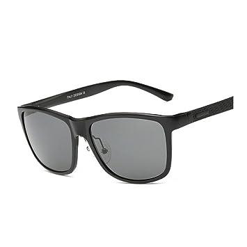 Wkaijc Mode Männer Aluminium-Magnesium-Legierung Polarisiertes Licht Das Ganze Feld Personalisierte Sport Sonnenbrille Sonnenbrillen,A