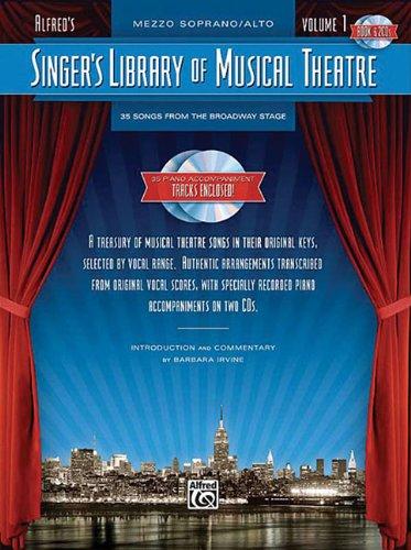Singer's Library of Musical Theatre - Vol. 1: Mezzo-Soprano Book/2-CDs Pack
