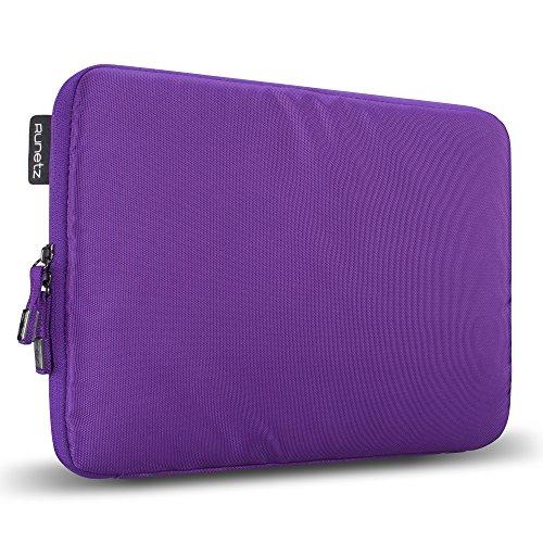 Runetz 11 inch Soft Sleeve Case Cover for MacBook Air  Purple